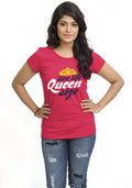 Queen Size Women TShirt - Wear Your Opinion - WYO.in  - 3