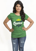 Queen Size Women TShirt - Wear Your Opinion - WYO.in  - 2