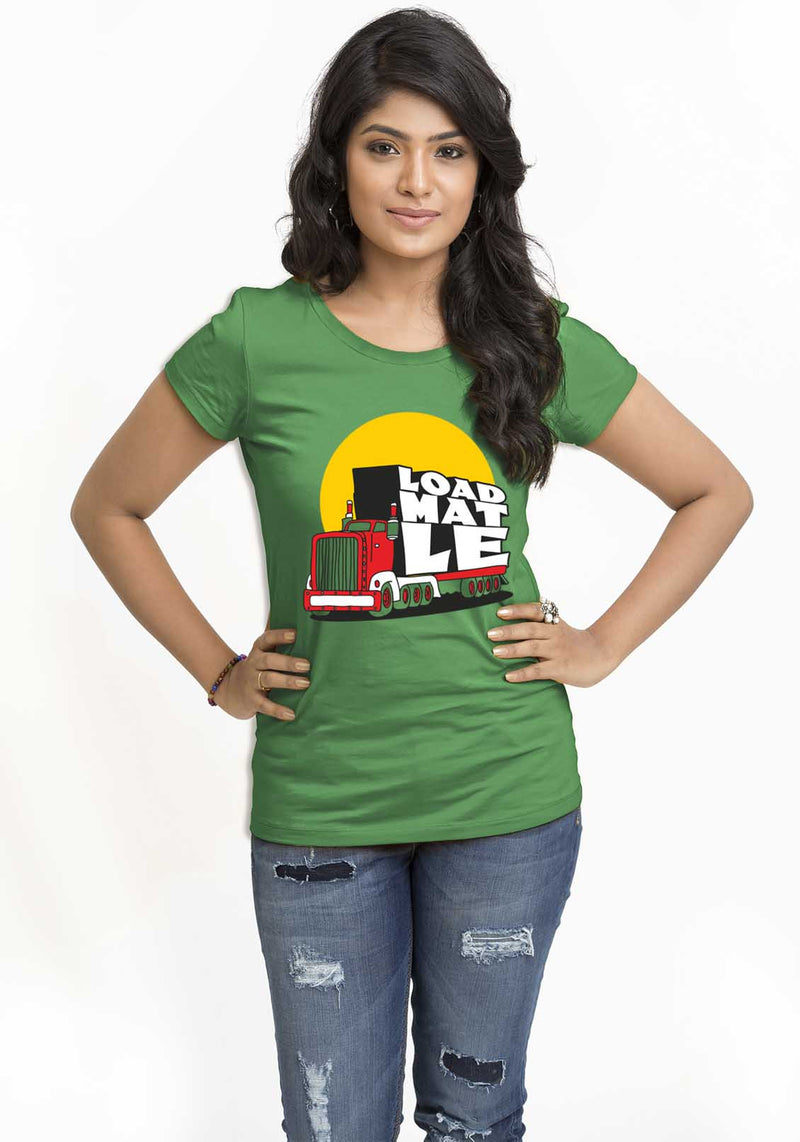 Load Mat Le Women TShirt - Wear Your Opinion - WYO.in  - 1