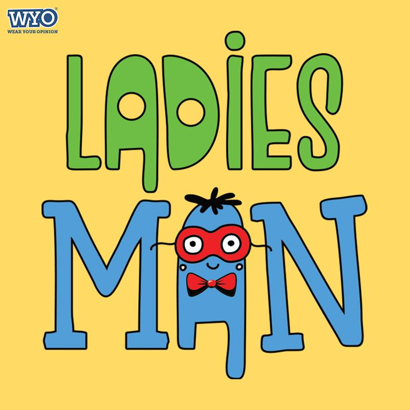 Ladies Man Kids T-Shirt