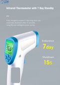 Aicare A66 Infrared Forehead Thermometer (Price Drop)