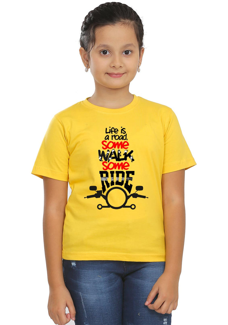 Life Is A Road Kids T-Shirt
