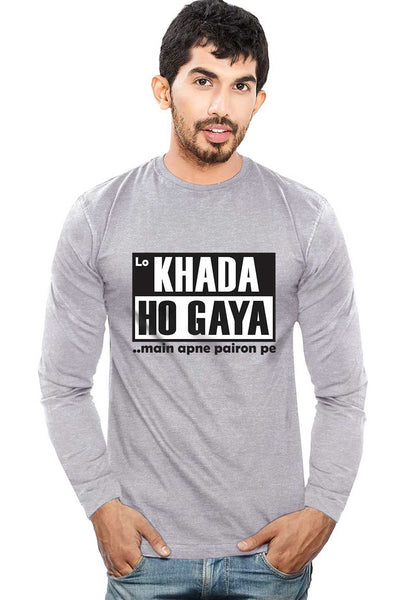 Lo Khada Ho Gaya - Full Sleeves