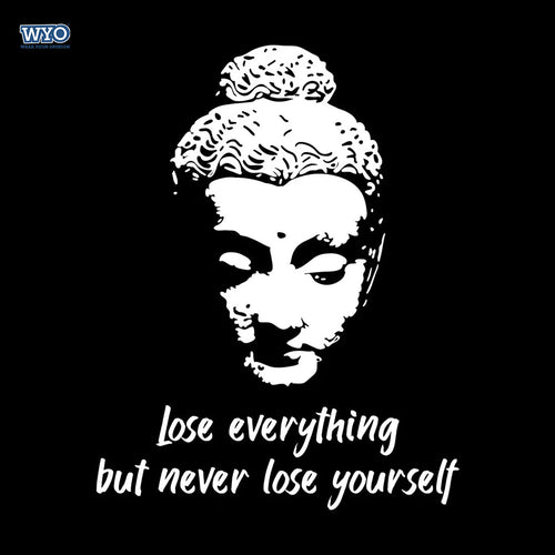 Never Lose Buddha T-Shirt