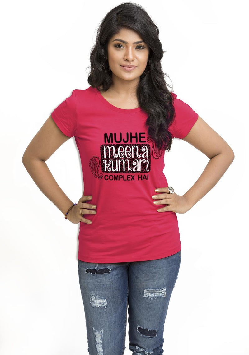 Meena Kumari Complex Women TShirt - Wear Your Opinion - WYO.in  - 1