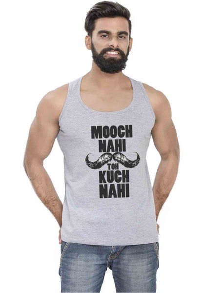 Mooch Nahi Toh Sleeveless T-Shirt