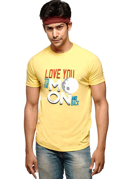 Love Moon T-Shirt - Wear Your Opinion - WYO.in  - 2