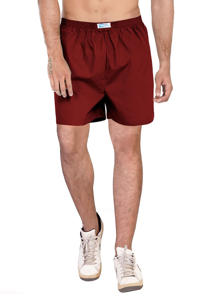 Plain Boxer - Marron