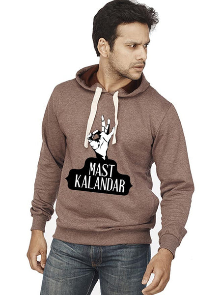 Mast Kalander Front Print Sweatshirt - Wear Your Opinion - WYO.in