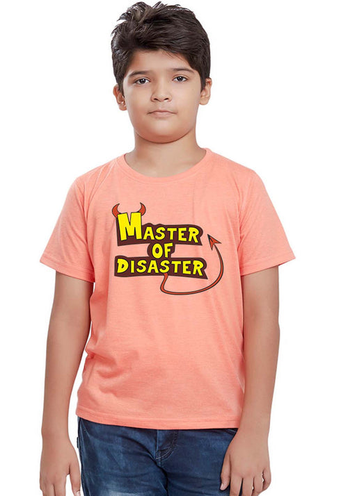Master of Disaster Kids T-Shirt