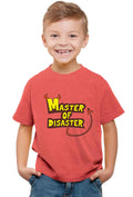Master Of Disaster Kid'S T-Shirt - Wear Your Opinion - WYO.in  - 2