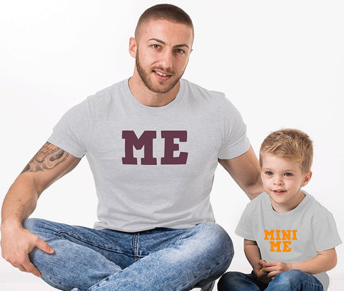 Me and Mini Me - Father And Son T-Shirts
