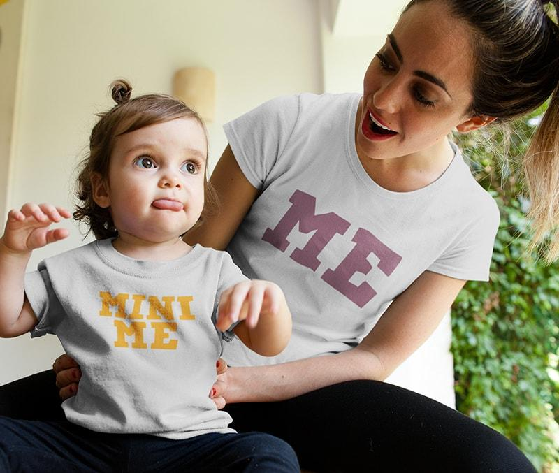 Me and Mini Me - Mother And Daughter T-Shirts