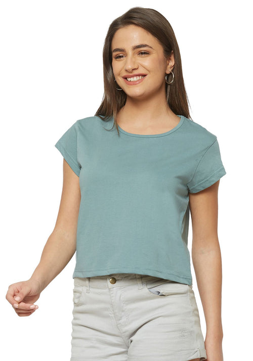 Crop Top - Mint