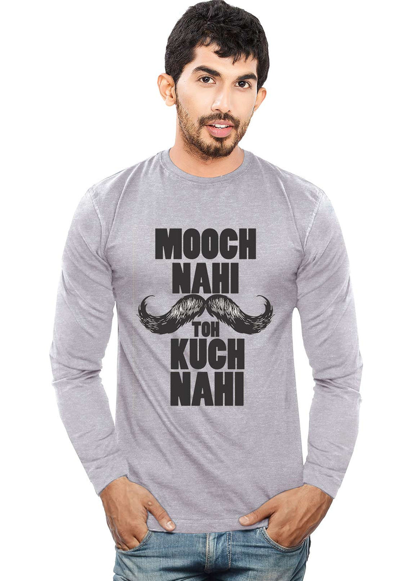 Mooch Nahi Toh - Full Sleeve - Wear Your Opinion - WYO.in  - 1