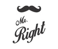 Mr Right Couple Tees