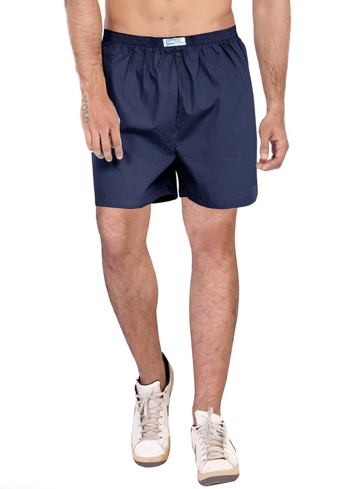Plain Boxer - Navy