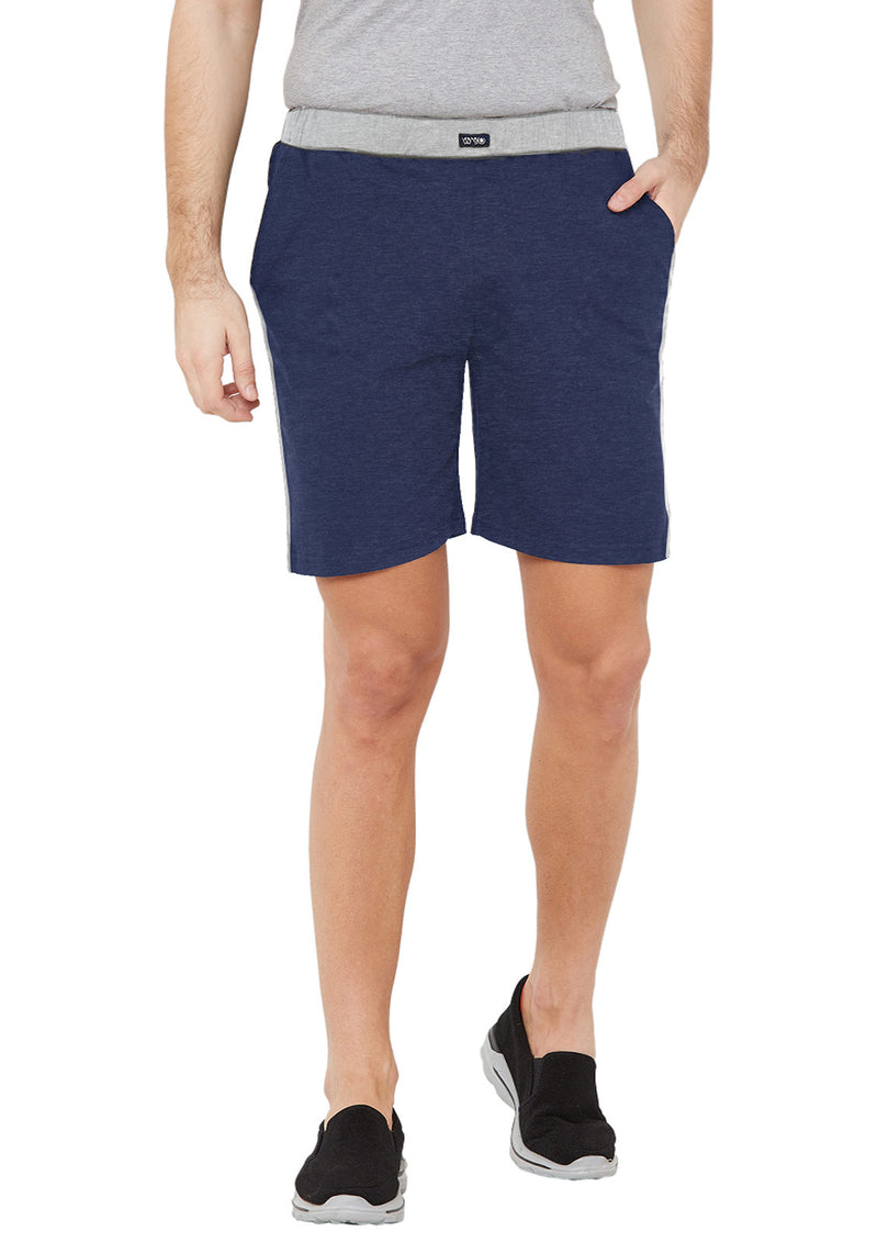 Plain Sweatshorts - Navy