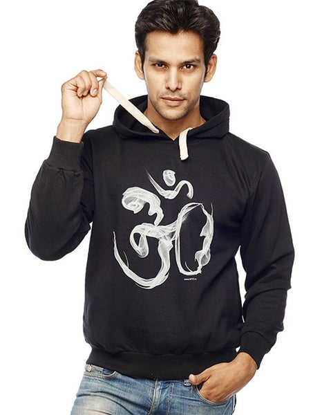 Om Smoke Sweatshirt - Wear Your Opinion - WYO.in  - 1