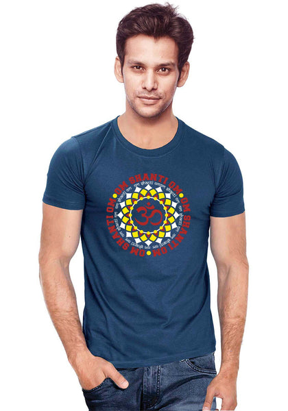 Om Shanti Om T-Shirt - Wear Your Opinion - WYO.in  - 1