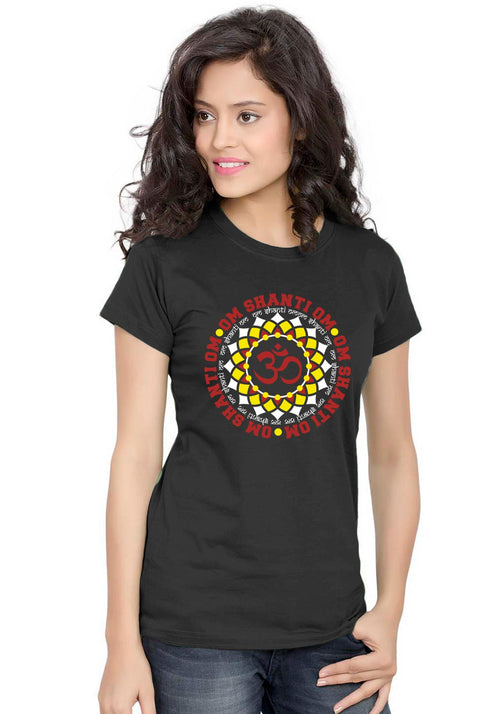 Om Shanti Om Women TShirt - Wear Your Opinion - WYO.in  - 1