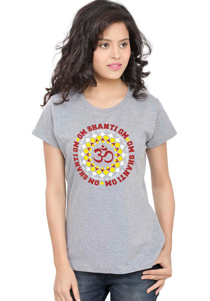 Om Shanti Om Women TShirt - Wear Your Opinion - WYO.in  - 3