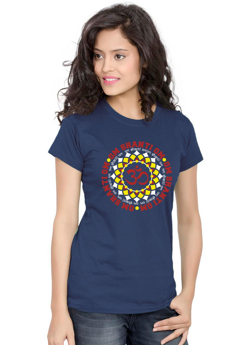 Om Shanti Om Women TShirt - Wear Your Opinion - WYO.in  - 2