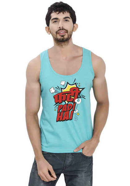 Phati Padi Hai Sleeveless T-Shirt
