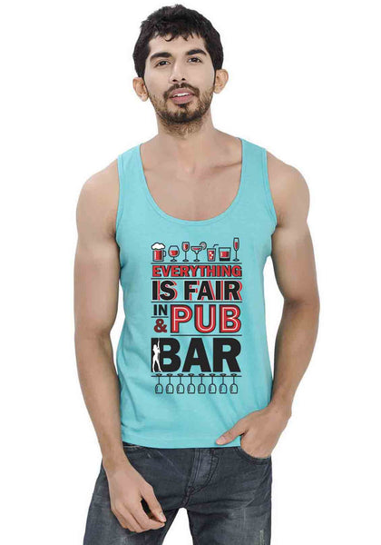 Pub And Bar Sleeveless T-shirt