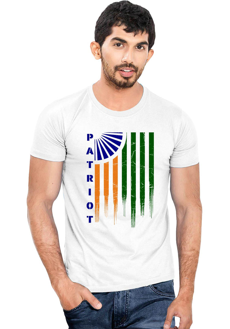 Patriot Flag T-Shirt - Wear Your Opinion - WYO.in