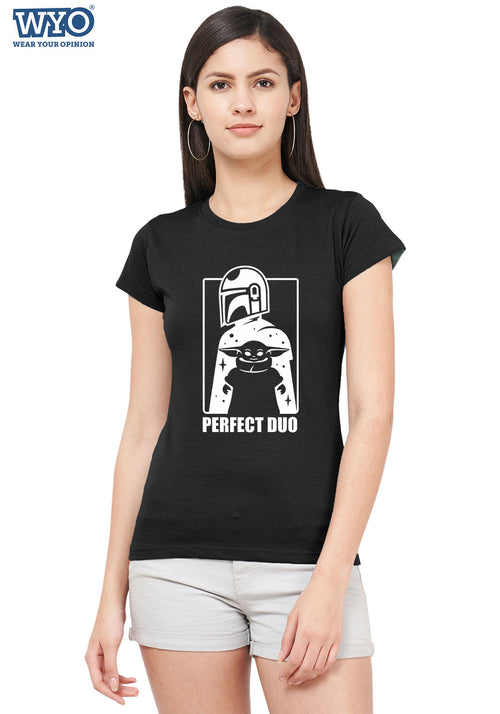 Perfect Duo (Glow In Dark) Women Tshirt