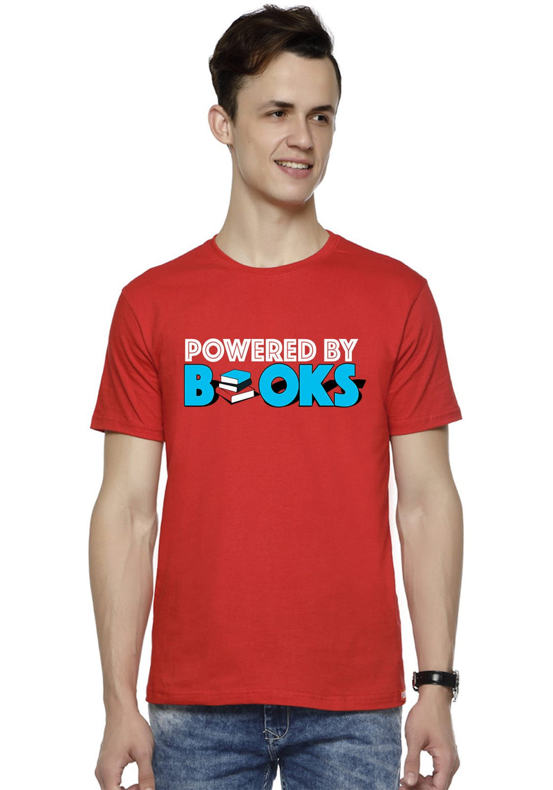 Powered By Book T-Shirt