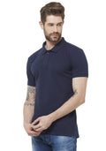 Premium PQ Polo T-Shirt - Navy