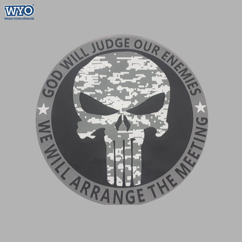 HD Punisher Judge Enemies T-Shirt