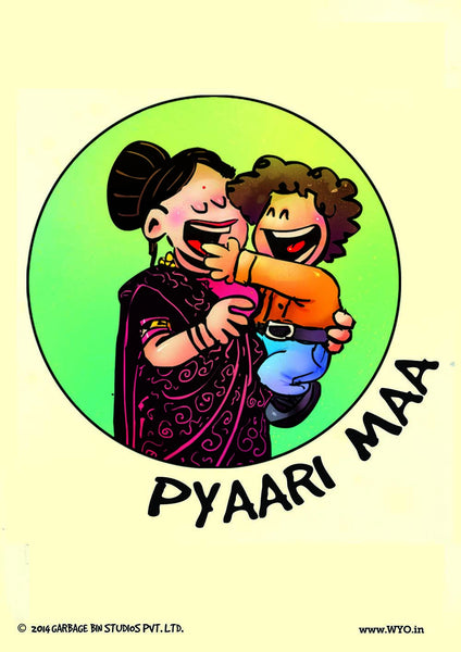Pyaari Maa Poster - Wear Your Opinion - WYO.in