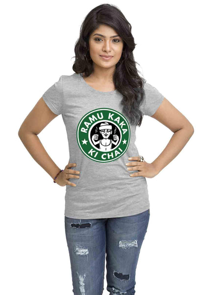 Ramu Kaka Womens TShirt - Wear Your Opinion - WYO.in  - 1