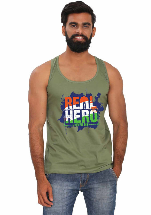 Real Hero Sleeveless T-shirt