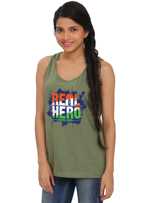 Real Hero Sleeveless Tshirt