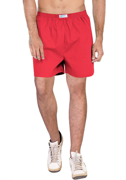 Plain Boxer - Red