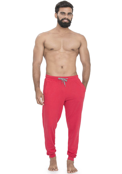 Plain Joggers - Red