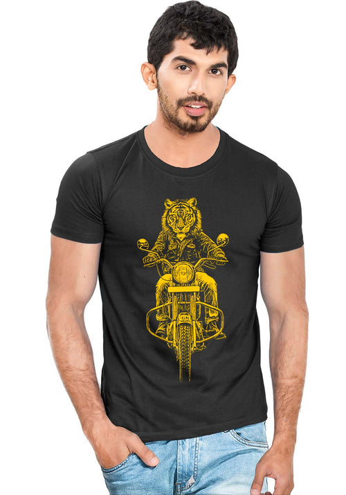 Ride Like Tiger T-Shirt - Wear Your Opinion - WYO.in  - 1