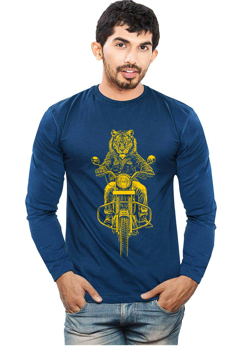 Ride Like Tiger - Full Sleeves - Wear Your Opinion - WYO.in  - 1