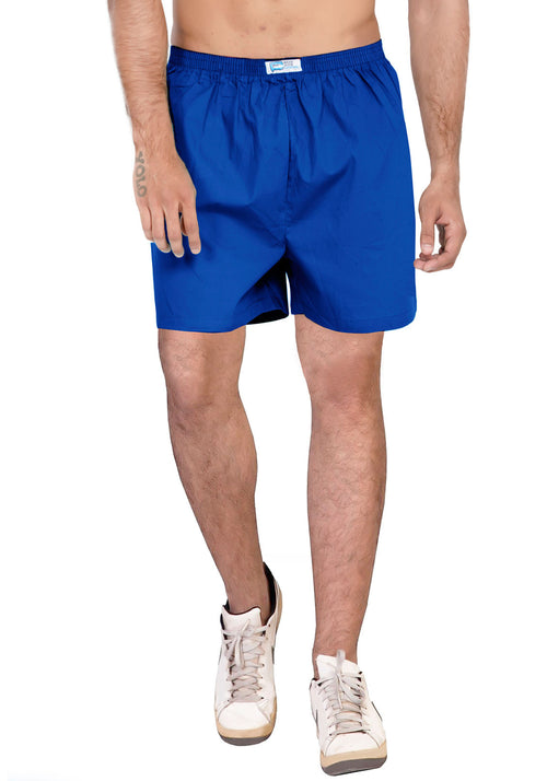 Plain Boxer - Royal Blue