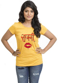 Sajani Women'S TShirt - Wear Your Opinion - WYO.in  - 2