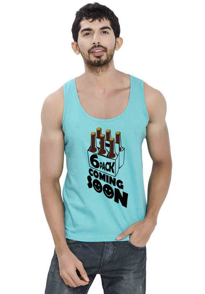 Six Packs Sleeveless T-Shirt
