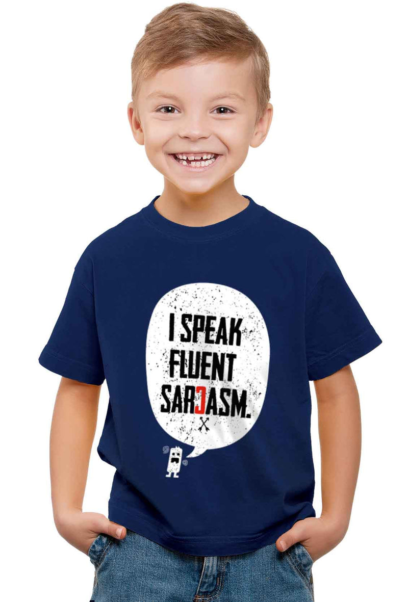 Sarcasm Kid'S T-Shirt - Wear Your Opinion - WYO.in  - 1
