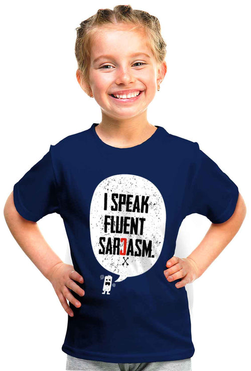Sarcasm Kid'S Tshirt - Wear Your Opinion - WYO.in  - 1