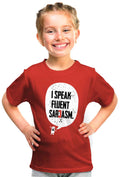 Sarcasm Kid'S Tshirt - Wear Your Opinion - WYO.in  - 2