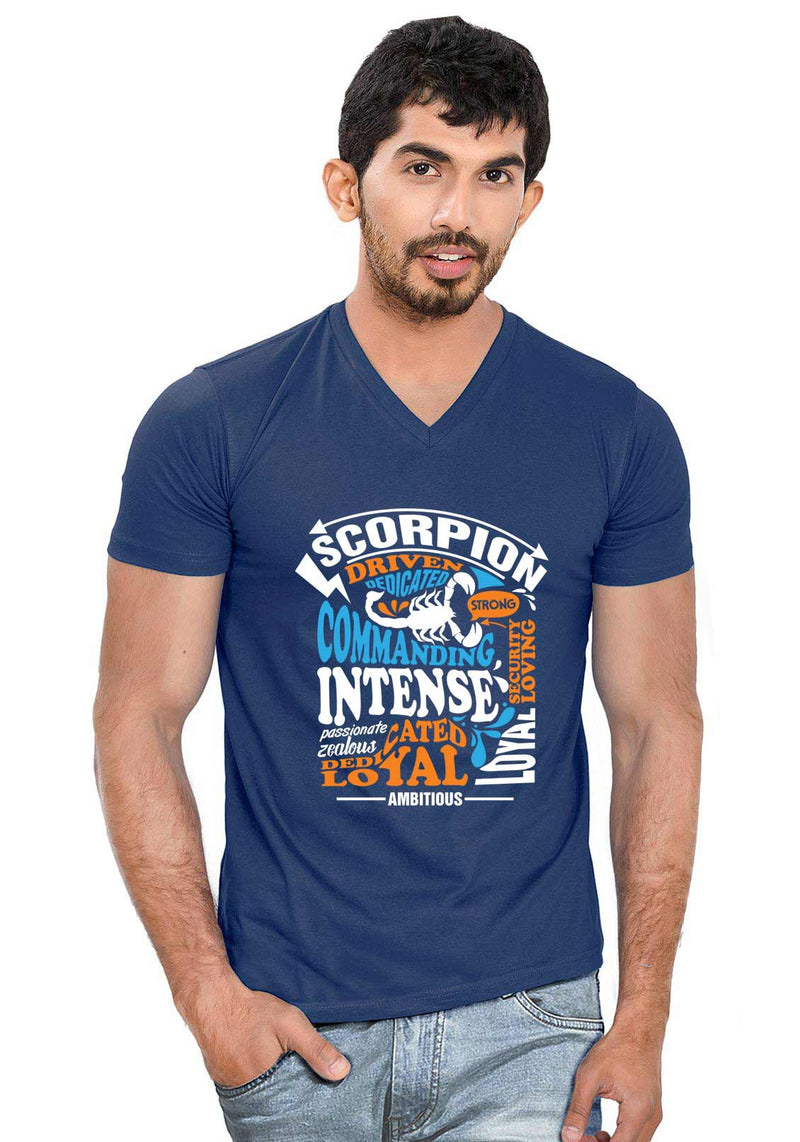Scorpion V Neck T-Shirt