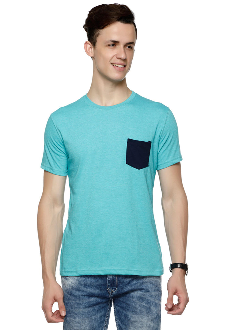 Plain Navy Pocket T-Shirt